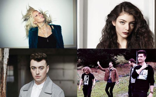 Ellie Goulding, Das waren die Brit Awards 2014: Ellie Goulding, Lorde, Bastille und Sam Smith sind glückliche Gewinner