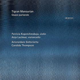 Anja Lechner, Tigran Mansurian: Quasi Parlando, 00028948106677