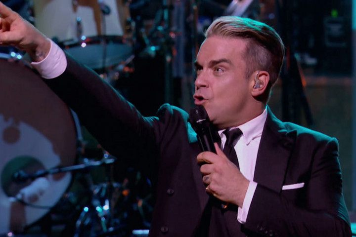 Robbie Williams Pressefoto 2012