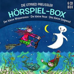 Otfried Preußler, Die Otfried-Preußler-Hörspielbox (Hexe/Gespenst/Wassermann), 00602537642243