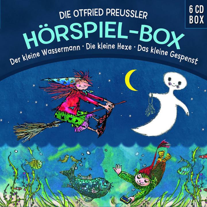 Die O.Preußler-Hörspielbox: Wasserm/Hexe/Gespenst: Preußler,Otfried