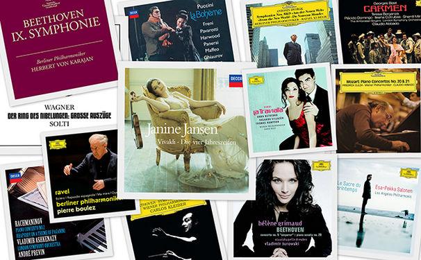 Diverse Künstler, iTunes präsentiert essenzielle Klassikalben zum Sonderpreis