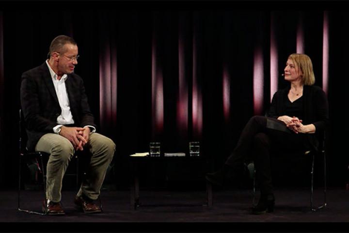 Dagmar Manzel im Gespräch mit Andreas Kluge (Senior Manager Promotion Classics bei Deutsche Grammophon)