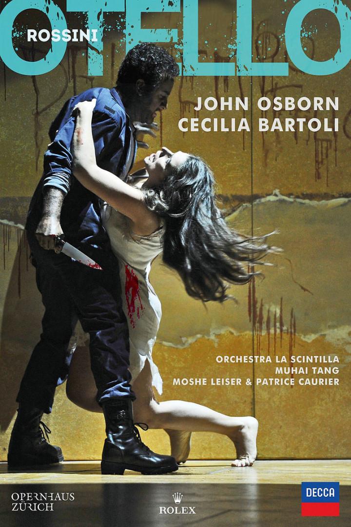 Rossini: Otello: Bartoli/Osborn/Tang/Orchestra La Scintilla/+