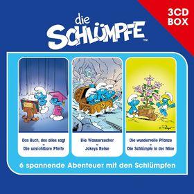 Die Schlümpfe, Die Schlümpfe - Hörspielbox Vol. 1, 00602537740574