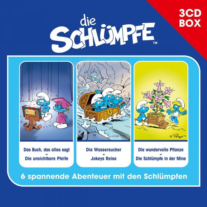 Die Schlümpfe - 3-CD Hörspielbox Vol. 1: Die Schlümpfe