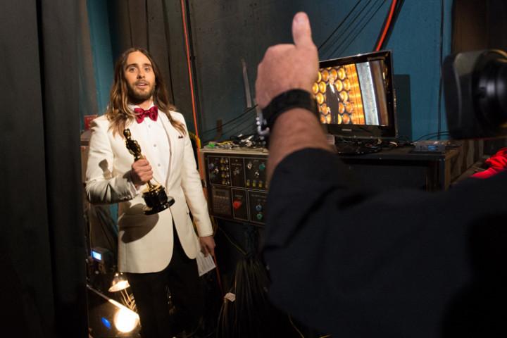 Jared Leto Oscar 2014