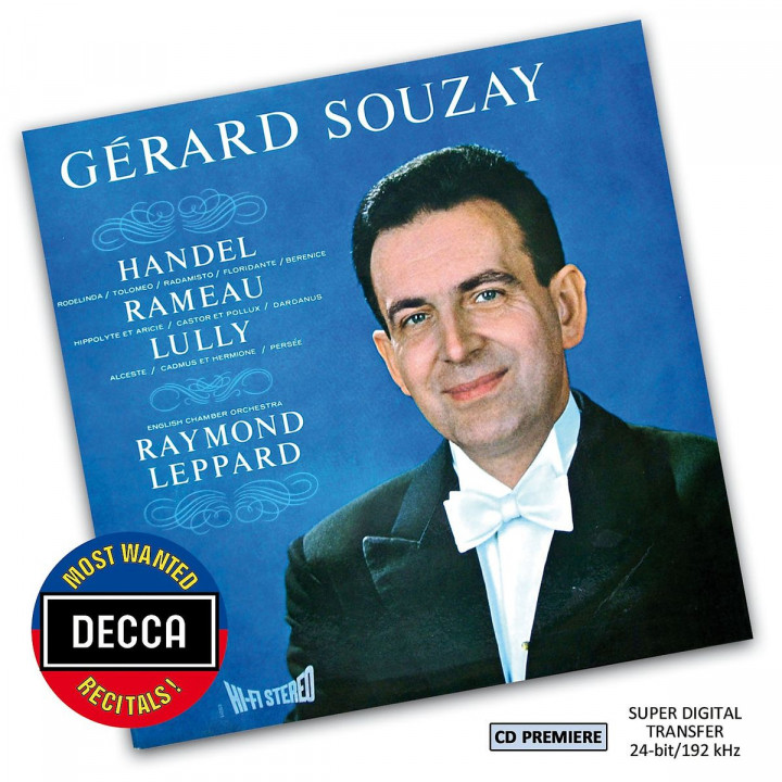 Gérard Souzay - Handel, Rameau & Lully