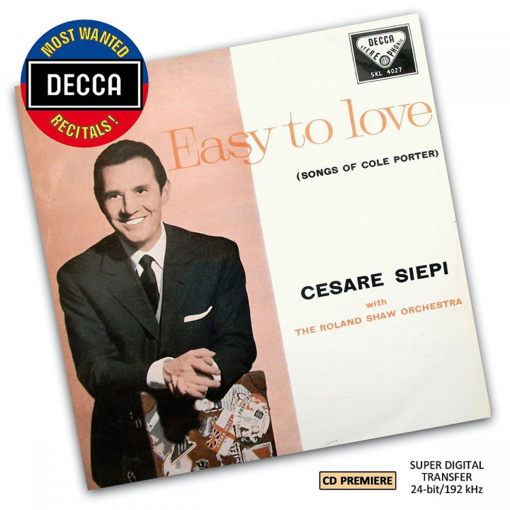 Songs of Cole Porter (DMWR): Siepi,Cesare