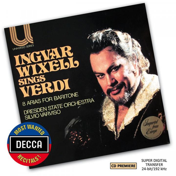 Ingvar Wixell Sings Verdi (DMWR): Wixell,Ingvar