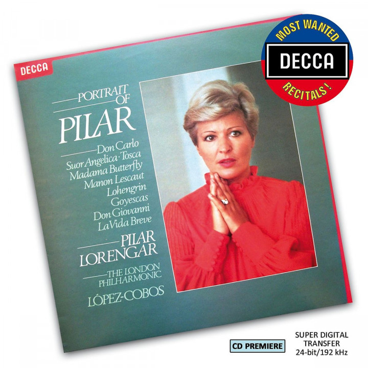 Portrait of Pilar (DMWR): Lorengar,Pilar