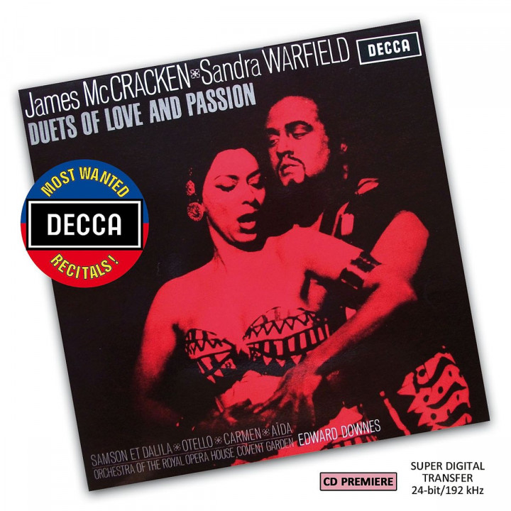 James McCraken & Sandra Warfield - Duets Of Love And Passion