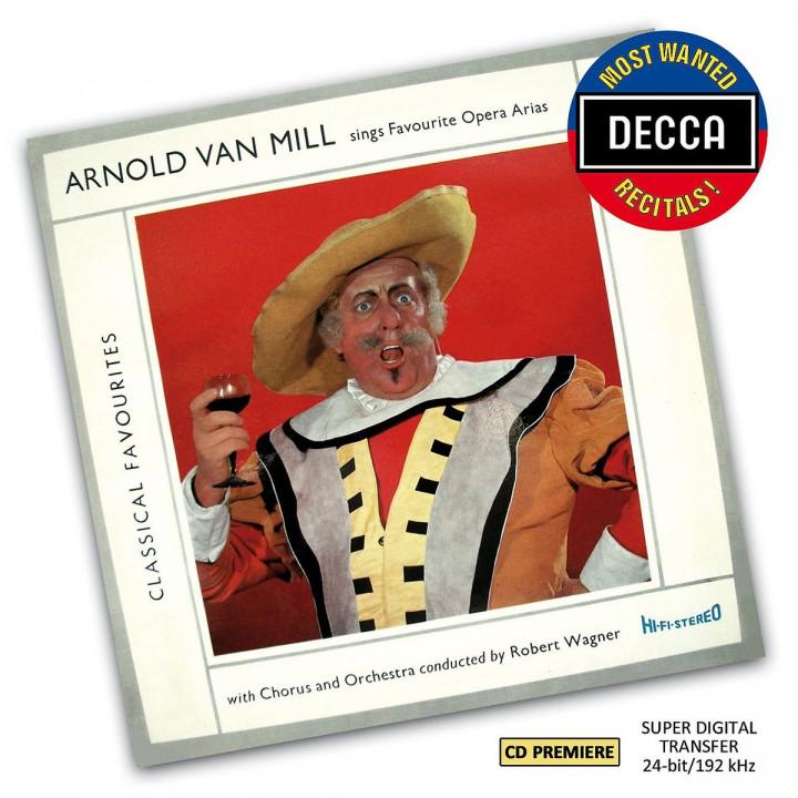 Favourite Opera Arias (DMWR): Van Mill,Arnold