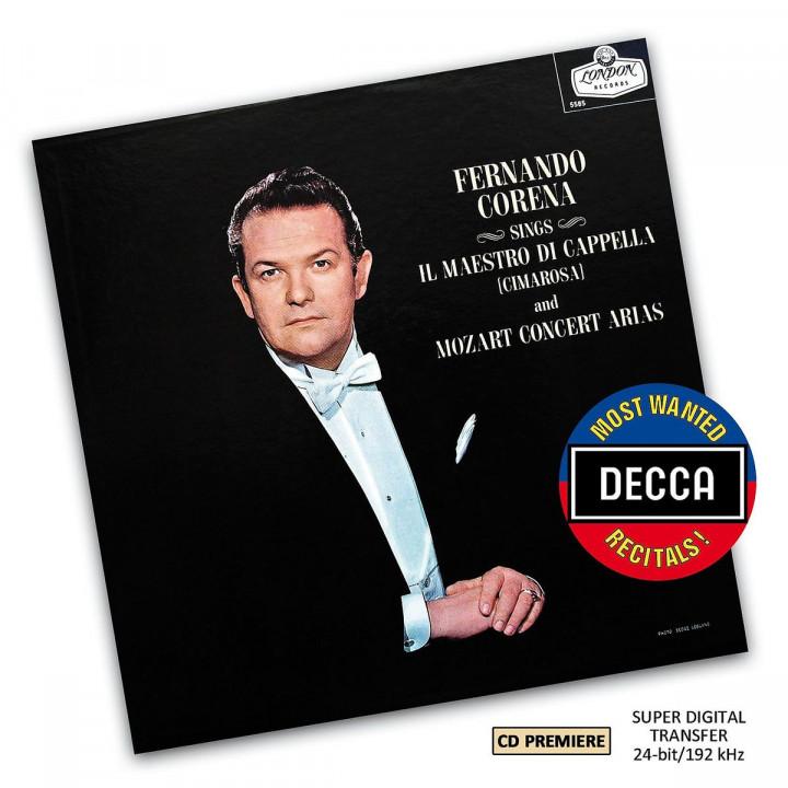 Mozart Bass Arias (DMWR): Corena,Fernando