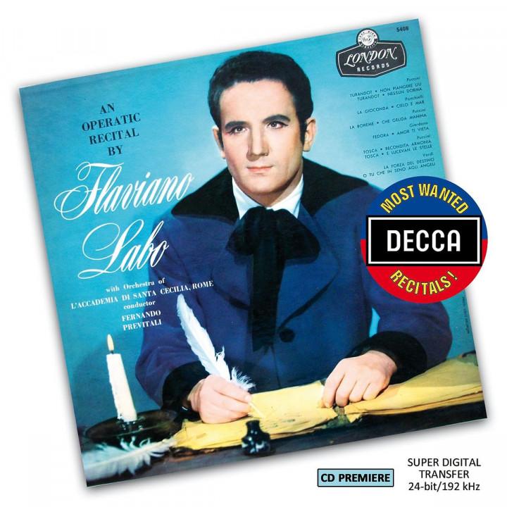 Flaviano Labo: Operatic Recital (DMWR): Labo,Flaviano
