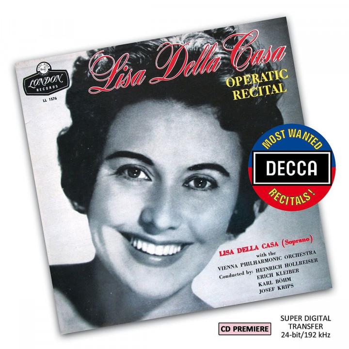 Lisa Della Casa: Operatic Recital (DMWR): Della Casa,Lisa
