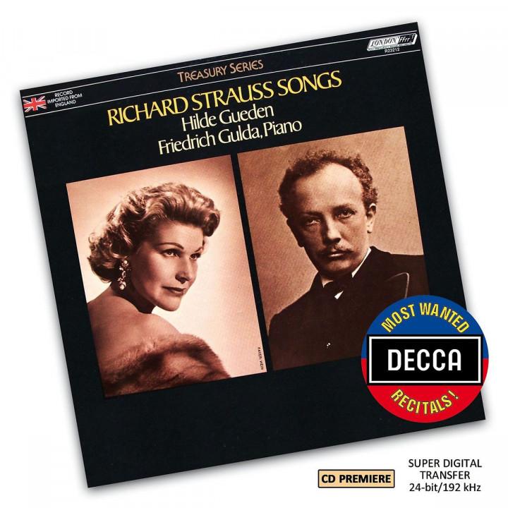 Richard Strauss Lieder (DMWR): Gueden,Hilde