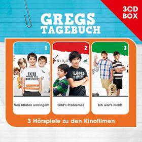 Gregs Tagebuch, Gregs Tagebuch - Hörspielbox, 00602537740550