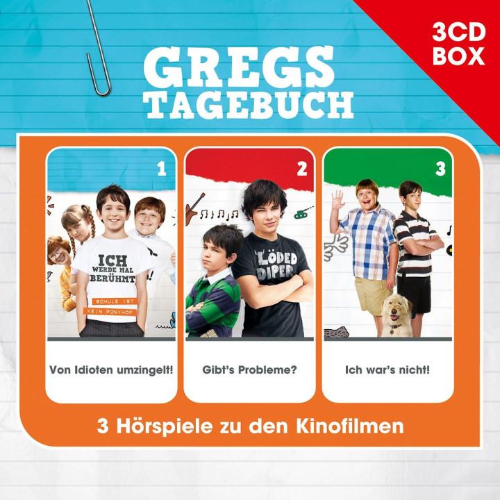 Gregs Tagebuch - 3-CD Hörspielbox Vol. 1: Gregs Tagebuch