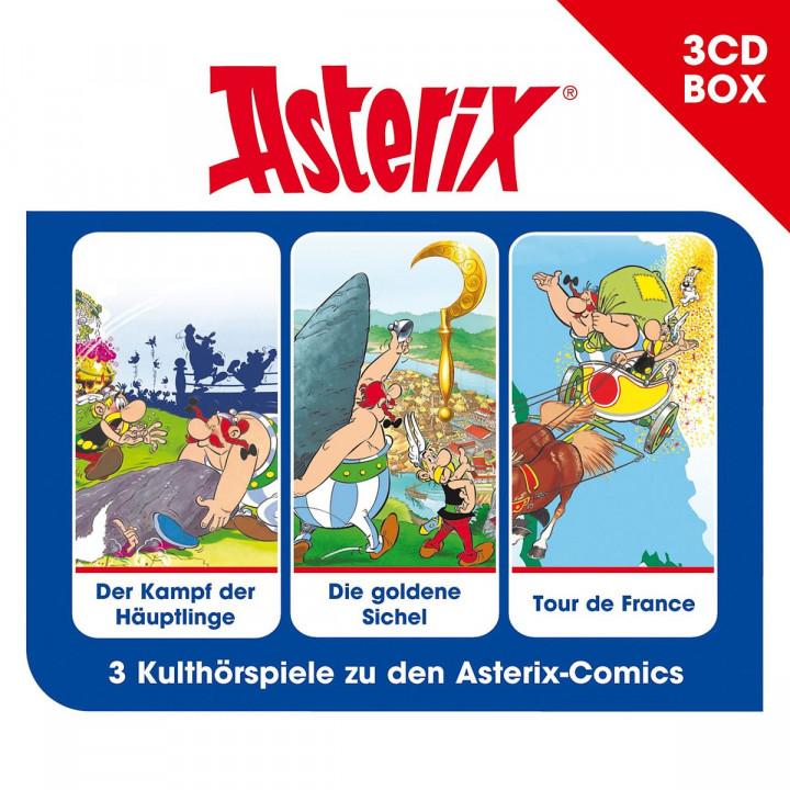 Asterix - 3-CD Hörspielbox Vol. 2: Asterix