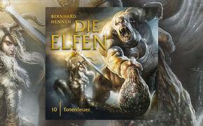 Die Elfen, Hörprobe & Infos zur 10. Die Elfen-Hörspielfolge Totenfeuer