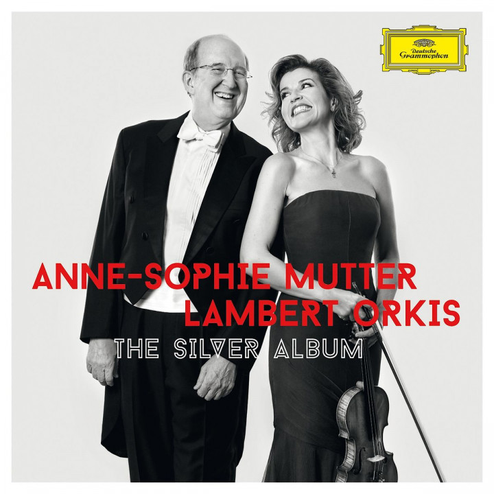 Anne-Sophie Mutter&Lambert Orkis:The Silver Album: Mutter,Anne-Sophie/Orkis,Lambert