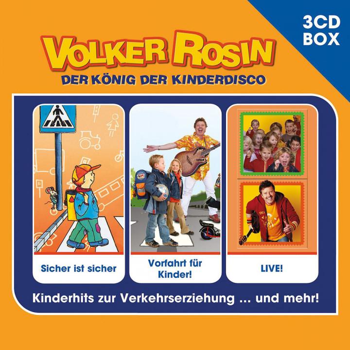 3-CD Liederbox Vol. 2: Rosin,Volker
