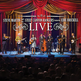 Steve Martin, Steve Martin And The Steep Canyon Rangers Featuring Edie Brickell LIVE, 00888072352827
