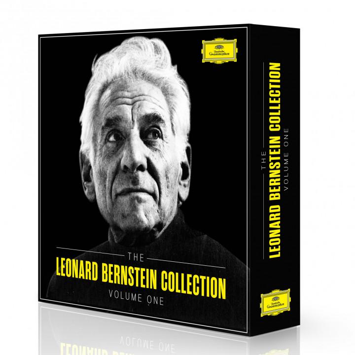 The Leonard Bernstein Colletion Volumen 1 Packshot