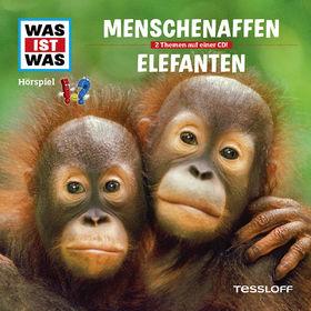 Was ist Was, 33: Menschenaffen/Elefanten, 09783788627331