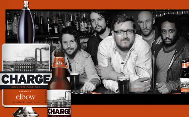 Elbow, Charge: Elbow mit zweitem eigenen Bier benannt nach einem Song ihres neuen Albums