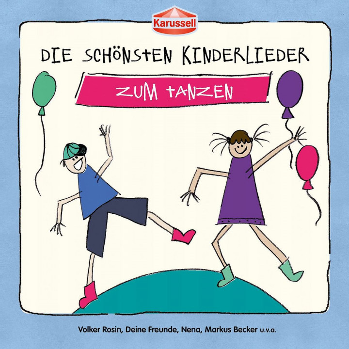 Die schönsten Kinderlieder - Zum Tanzen: Various Artists