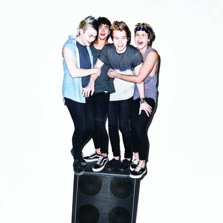 5 Seconds of Summer Presse Foto 2014