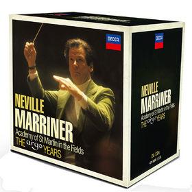 Sir Neville Marriner, Neville Marriner - The Argo Years, 00028947868835