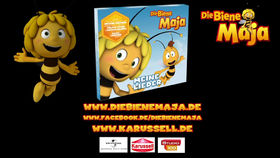 Die Biene Maja, Die Biene Maja – Lieder-CD-Trailer