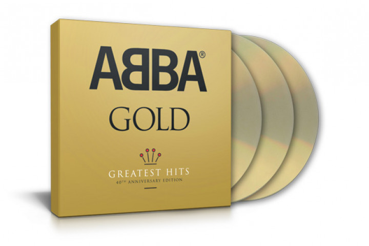 ABBA: GOLD – 40th Anniversary Edition (3 CDs)