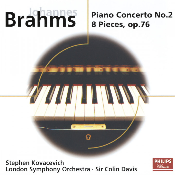 Brahms: Piano Concerto No.2; 8 Piano Pieces Op.76