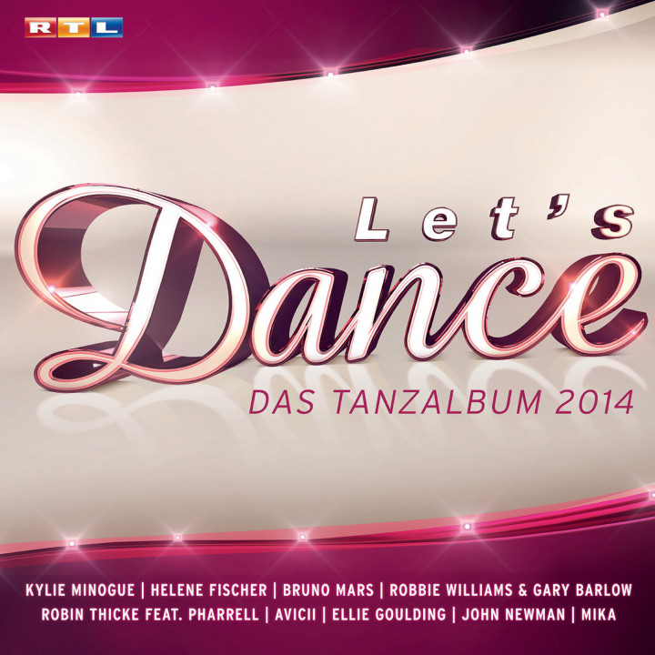 Let's Dance - Das Tanzalbum 2014 - UMG Cover
