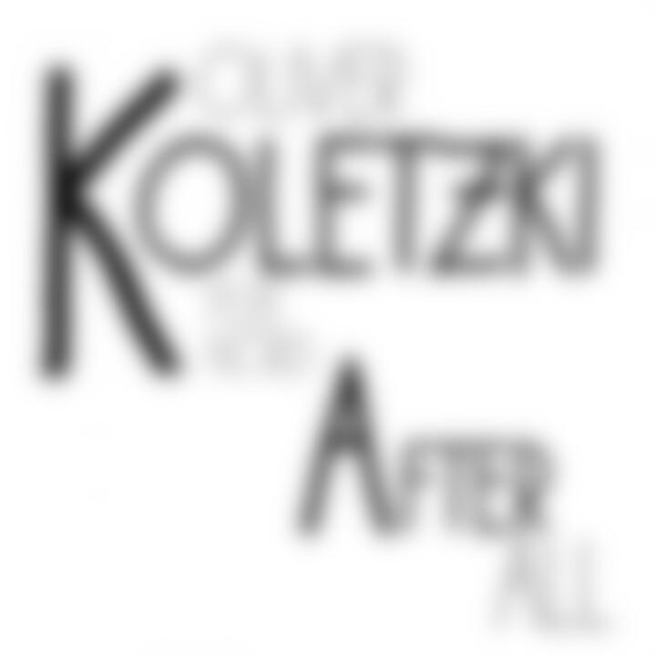 After All Cover Oliver Koletzki