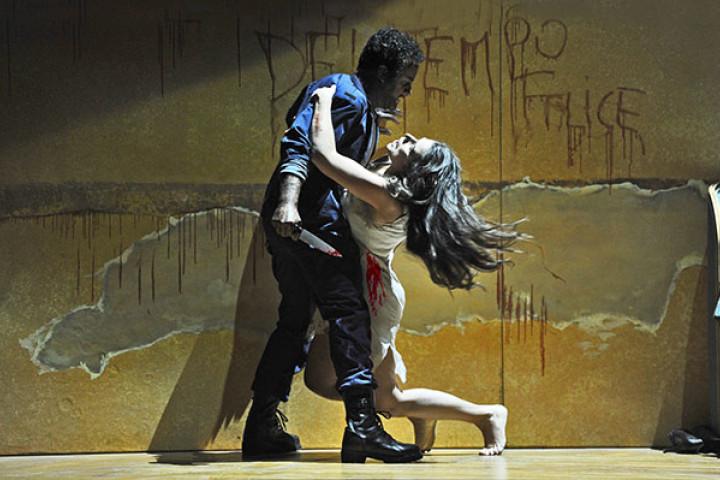 """John Osborn und Cecilia Bartoli in Rossinis Oper """"Otello"""" am Opernhaus Zürich"""