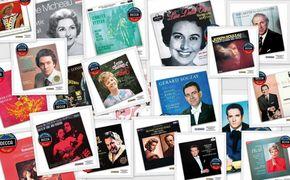 Decca's Most Wanted Recitals!, Goldene Jahrzehnte der Gesangskunst