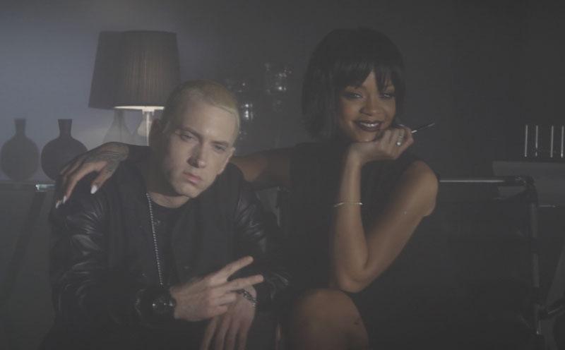 Rihanna, The Monster (Making Of)