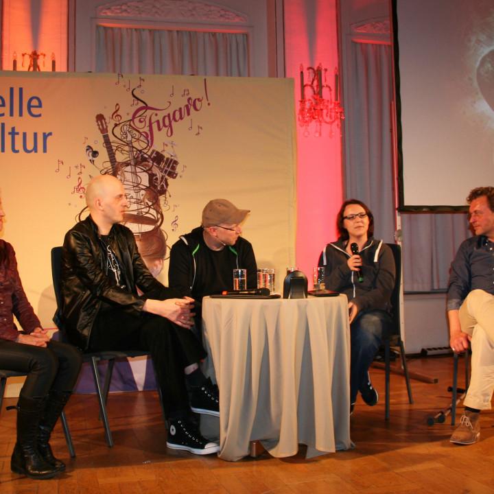 Claudia Urbschat-Mingues, Andreas Meyer, Dennis Ehrhardt, Doerte Poschau und Thomas Schmuckert