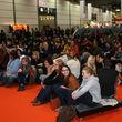 Die Elfen, Zuschauer und vor allem Zuhörer bei der Die Elfen-Präsentation auf der Leipziger Buchmesse am 15.03.2014