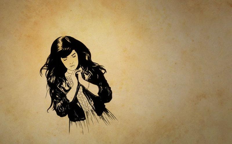 Indila, Tourner Dans Le Vide (Lyric Video)