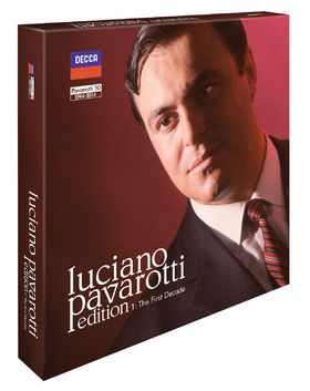 Luciano Pavarotti, Luciano Pavarotti Edition 1 : The First Decade, 00028947859468