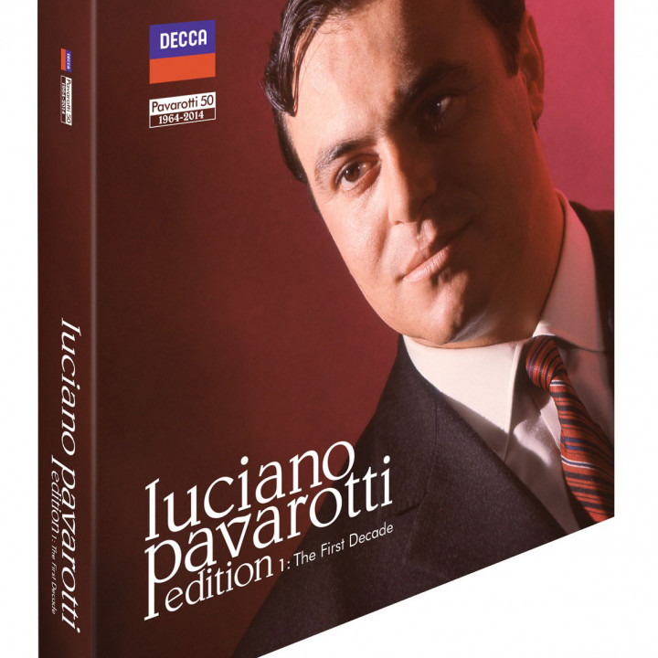 Luciano Pavarotti Edition Vol. 1: The First Decade