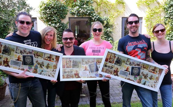 The BossHoss, The BossHoss werden in Österreich mit Platin ausgezeichnet