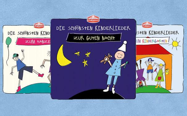 Die schönsten Kinderlieder, Die neue Kinderliederserie mit allen Stars von Karussell: Jetzt reinhören