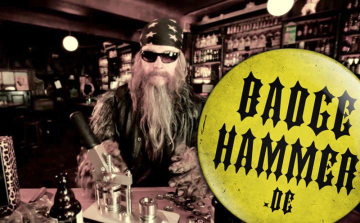 Jan Delay Bagde Hammer Aktion